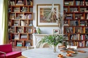 ایده های طراحی کتابخانه خانگی