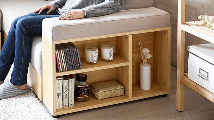 طراحی قفسه کتاب در کمد لباس، آشپزخانه، زیرپله، پشت مبل4