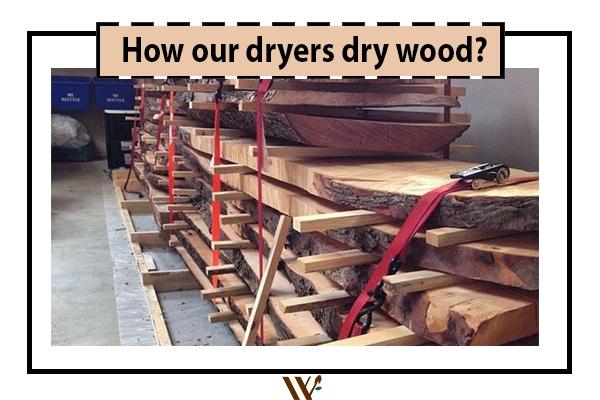 Wood dryer kiln